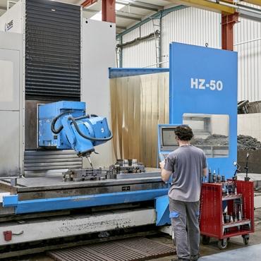 Fresadora CNC - HZ50 - 5 Eixos