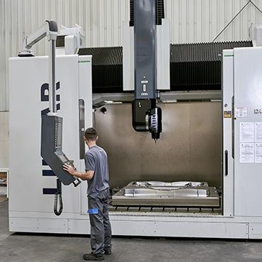 Fresadora CNC - PARPAS XS 5 Eixos